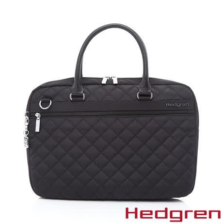 Hedgren 13吋電腦公事包-黑色