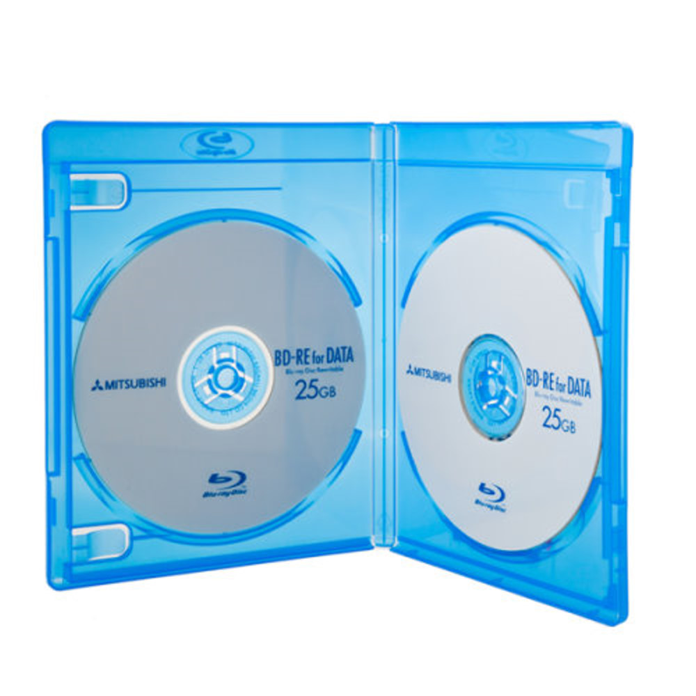 DigiStone 藍光DVD Logo燙銀雙片精裝軟盒  25個