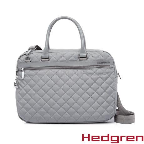 Hedgren 15吋電腦公事包-灰色