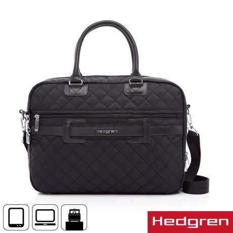 Hedgren 15吋電腦公事包-黑色