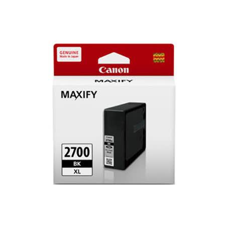 Canon PGI-2700XL BK 黑色高容量墨水匣 適用 IB4070 / MB5070