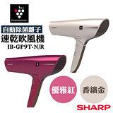 送陶瓷杯(3入)【夏普SHARP】自動除菌離子速乾吹風機 IB-GP9T-N/R