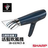 送陶瓷杯(3入)【夏普SHARP】自動除菌離子活髮吹風機 IB-GX9KT-B