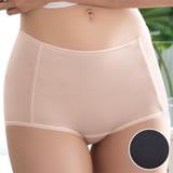 【華歌爾】COOL冰涼褲M-3L高腰三角褲(冰灰黑)