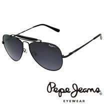 Pepe Jeans 英倫時尚經典飛行員太陽眼鏡 (黑) PJ5057-C1