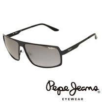 Pepe Jeans 英倫時尚簡約個性風格太陽眼鏡 (黑) PJ5060-C1