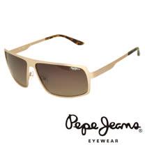 Pepe Jeans 英倫時尚簡約個性風格太陽眼鏡 (黑) PJ5060-C3