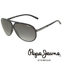 Pepe Jeans 英倫時尚經典復古風格太陽眼鏡 (黑) PJ7109-C1