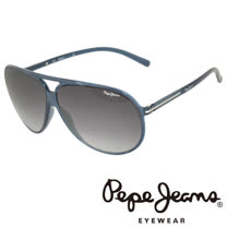 Pepe Jeans 英倫時尚經典復古風格太陽眼鏡 (黑) PJ7109-C2