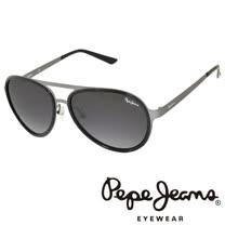 Pepe Jeans 英倫時尚經典復古風格太陽眼鏡 (黑) PJ7111-C1