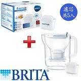德國 BRITA Style純淨濾水壺(藍色)+濾芯5入