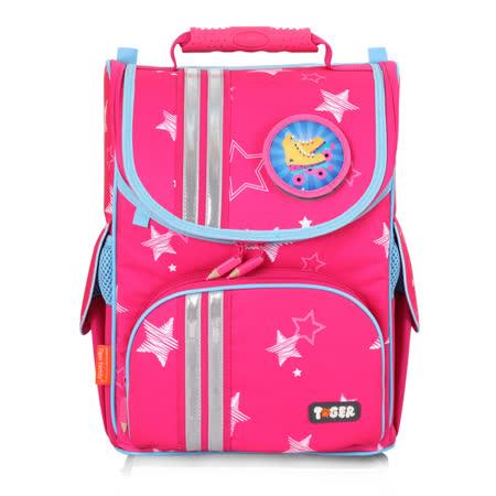 ★新品上市★TigerFamily經典小貴族超輕量護脊書包-粉紅星星 (1~2年級)