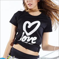 TOUCH AERO 愛心短袖T恤TA583(有M/L雙尺寸)