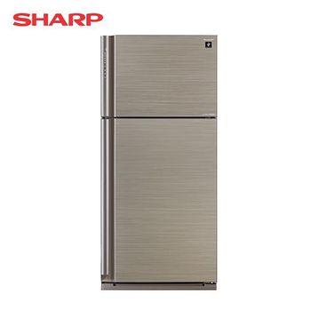 SHARP 夏普 541公升 變頻雙門自動除菌離子冰箱-光耀銀 SJ-PD54V-SL