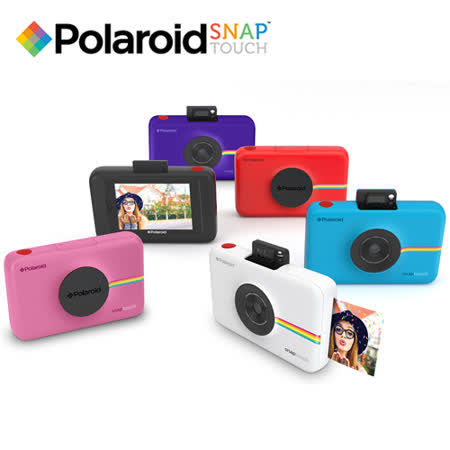 Polaroid SNAP TOUCH 觸控拍立得(公司貨)-加送TF 32G記憶卡+相印紙30張