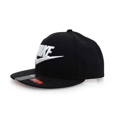 NIKE 運動帽-帽子 鴨舌帽 棒球帽 黑白 F