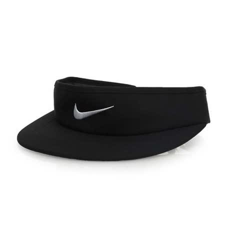 NIKE GOLF 可調式高爾夫遮陽帽-中空帽 帽子 黑白 F
