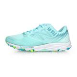(女) NEWBALANCE 690 V2系列-D 越野慢跑鞋-路跑 NB N字鞋 淺藍螢光綠