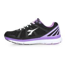 (女) DIADORA 慢跑鞋-路跑 黑紫