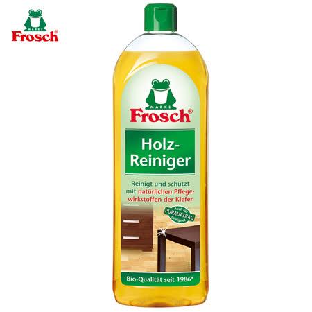 【德國Frosch】天然木質專用清潔劑 家具&地板(750mlx4入)/組