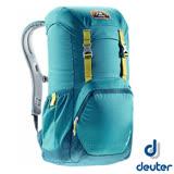 【德國 Deuter】WALKER 20 輕量透氣休閒旅遊背包20L/Airstripes通風背負系統.人體工學的柔軟肩帶_3810617 湖綠/深藍