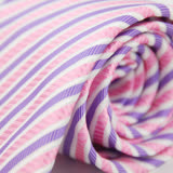 【雅派Alpaca】粉色紫斜紋領帶(品特)