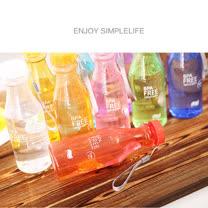 韓國熱賣摔不破汽水造型隨身杯(透明款)