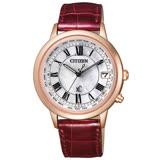 CITIZEN xC 戀之梵蒂岡電波時計腕錶-大-CB1107-07D