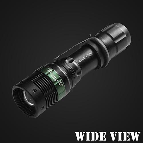 ~WIDE VIEW~Q5 LED強光變焦手電筒 ZL~W109~T