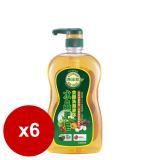 南僑水晶肥皂食器洗滌液体1000mlx6瓶/箱