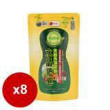 南僑水晶肥皂食器洗滌液体補充包800mlx6包/箱