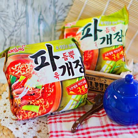【三養】蔥燒香辣牛肉風味拉麵