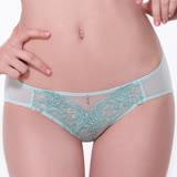 【LADY】燦亮星影系列 機能調整型 中腰三角褲(優雅綠)