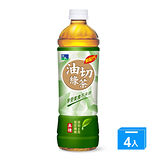 悅氏油切綠茶550ml*4入
