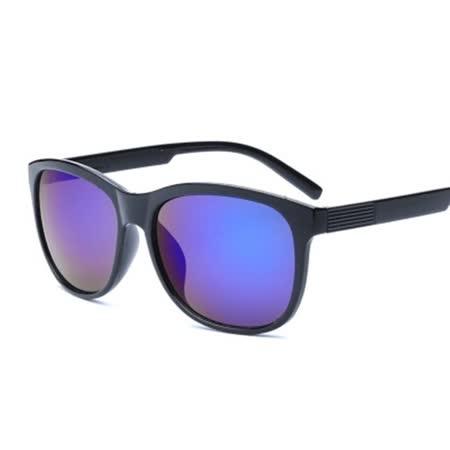 【米蘭精品】太陽眼鏡墨鏡 -精緻質感搭方框設計男女眼鏡配件5色73en112
