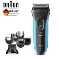 德國 BRAUN 新三鋒系列造型組電鬍刀 3010BT