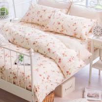 OLIVIA 《 花見 》 特大雙人床包枕套三件組 嚴選印花系列