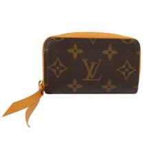 Louis Vuitton LV M64303 ZIPPY 經典花紋信用卡零錢包.橘_預購