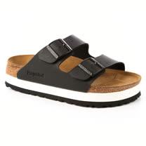 勃肯Papillio 364063。ARIZONA亞利桑那 經典二條拖鞋(霧黑)