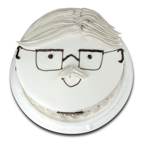 現貨+預購【台灣鑫鮮】幸福爹地臉譜蛋糕7吋