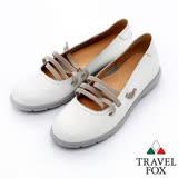 Travel Fox 城市女孩休閒娃娃鞋-917315-(白-107)(女)