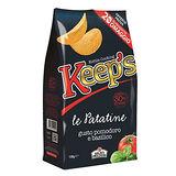 義大利KEEPS少油馬鈴薯片-蕃茄羅勒130g