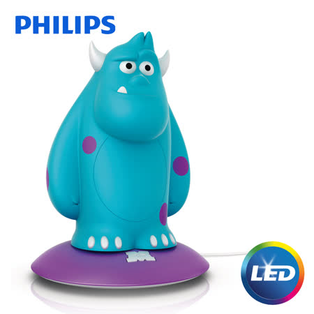 【飛利浦 Philips】 LED可攜式床邊燈-毛怪 71705