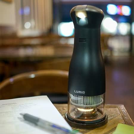 【韓國 Lumir】蠟燭節能LED氣氛燈 (黑) – SPOT白光