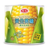 愛之味黃金萬穗陽光玉米粒340g*3