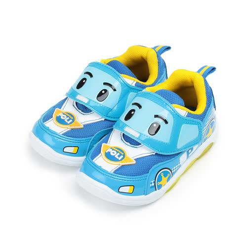 中童  救援小英雄 POLI波力電燈鞋 鞋 藍 POKX61216 童鞋 鞋全家福