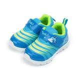 (中童) 救援小英雄 POLI波力毛毛蟲運動鞋 藍 POKB71406 童鞋 鞋全家福
