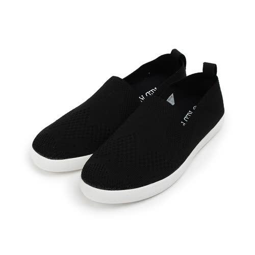 (男) RED ANT 飛織休閒萊特鞋 黑 男鞋 鞋全家福