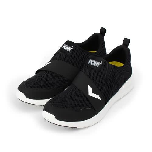 (男) PONY 限定版套式休閒鞋 黑 72M1SP91BK 男鞋 鞋全家福