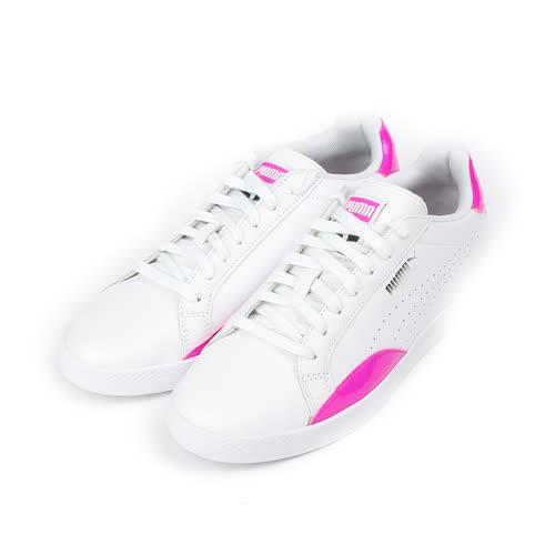(女) PUMA Match Basic  Wns 限定版復古休閒鞋 白紫 362726-02 女鞋 鞋全家福
